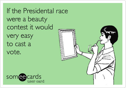 If the Presidental race 