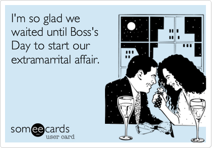 I'm so glad we