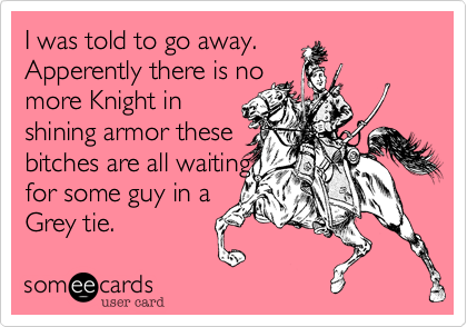 I was told to go away. 