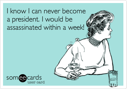 I know I can never become