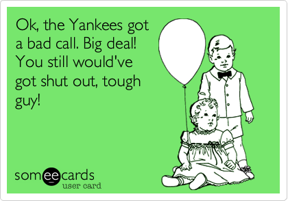 Ok, the Yankees got