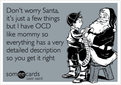 Don't worry Santa,
