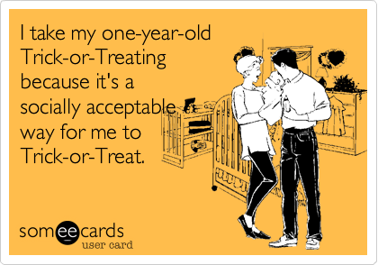 I take my one-year-old 