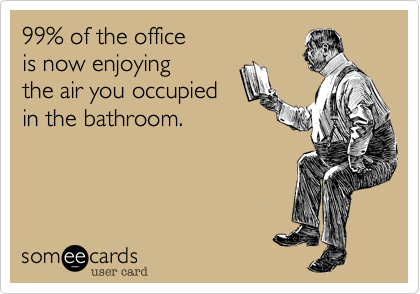 99% of the office