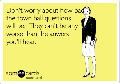 Don't worry about how bad