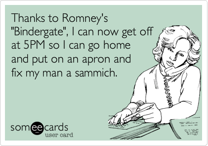 Thanks to Romney's