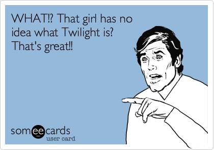 WHAT!? That girl has no