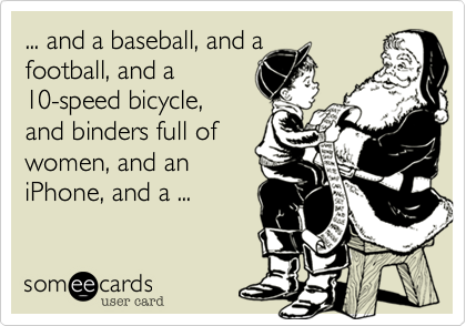 ... and a baseball, and a