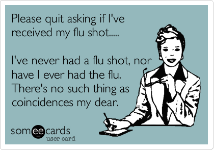 Please quit asking if I've
