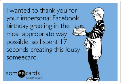 I wanted to thank you for