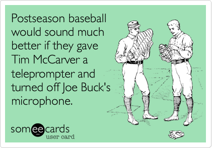 Postseason baseball