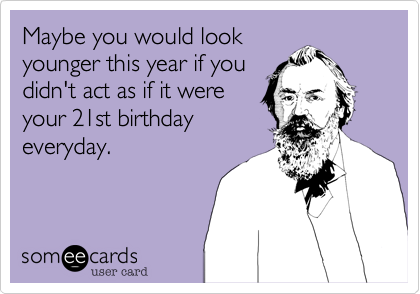 Maybe you would look