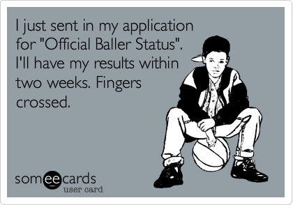 I just sent in my application