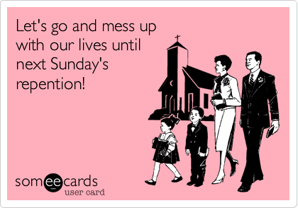 Let's go and mess up