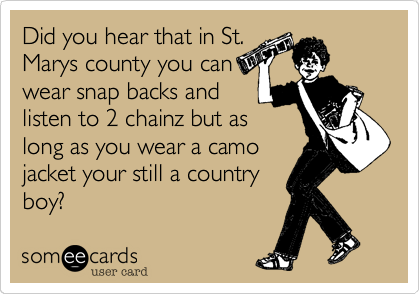 Did you hear that in St.