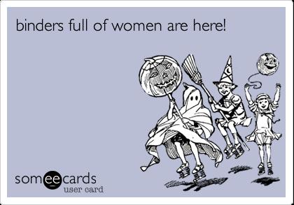 binders full of women are here!