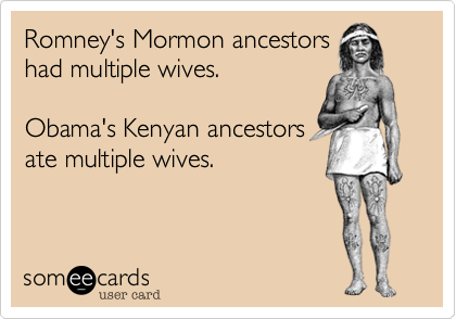 Romney's Mormon ancestors