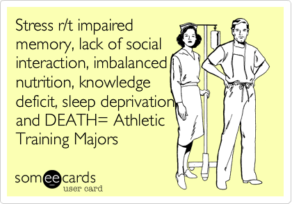 Stress r/t impaired 