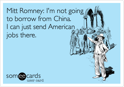 Mitt Romney: I'm not going