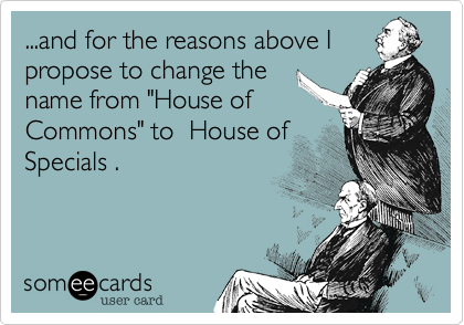 ...and for the reasons above I