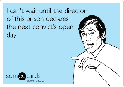 I can't wait until the director