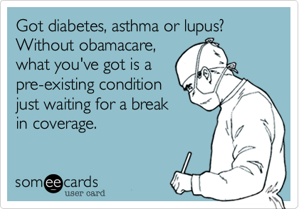 Got diabetes, asthma or lupus?