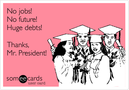 No jobs!