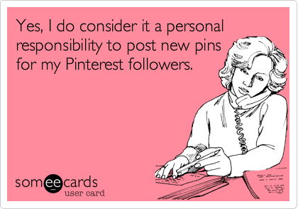 Yes, I do consider it a personal