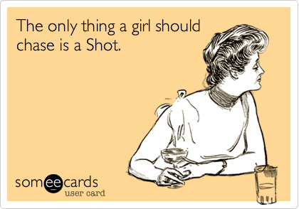 The only thing a girl should
