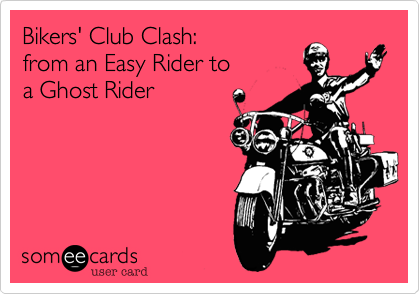 Bikers' Club Clash: 
