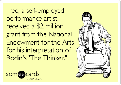 Fred, a self-employed 