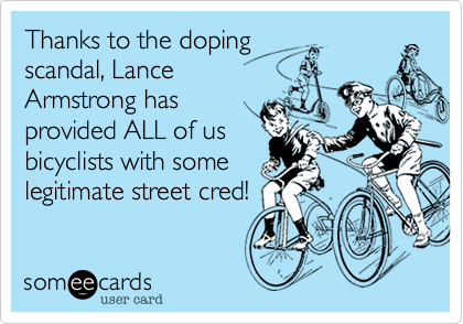 Thanks to the doping