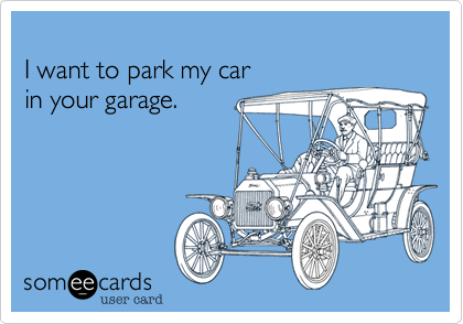 I want to park my car