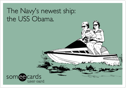 The Navy's newest ship: