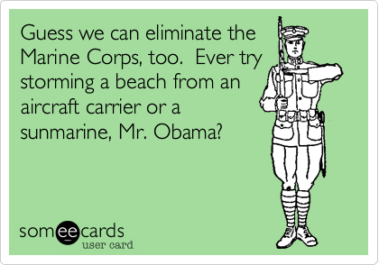 Guess we can eliminate the 
