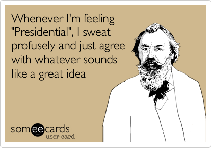 Whenever I'm feeling