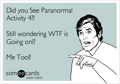 Did you See Paranormal