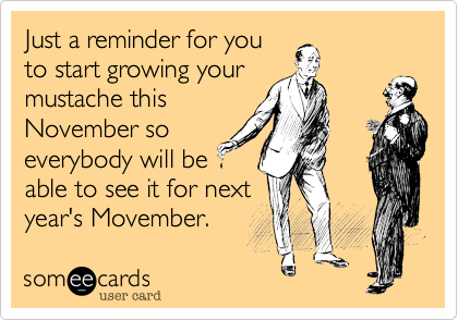 Just a reminder for you