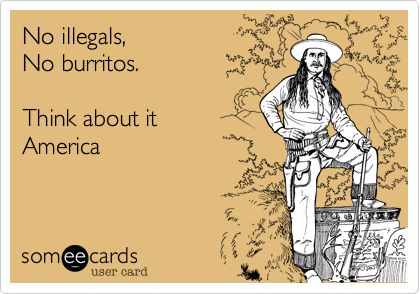 No illegals,