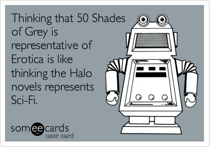 Thinking that 50 Shades