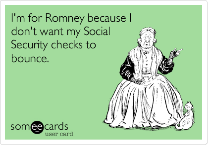 I'm for Romney because I