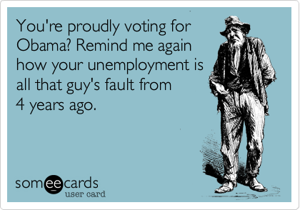 You're proudly voting for