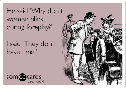 "He said ""Why don't