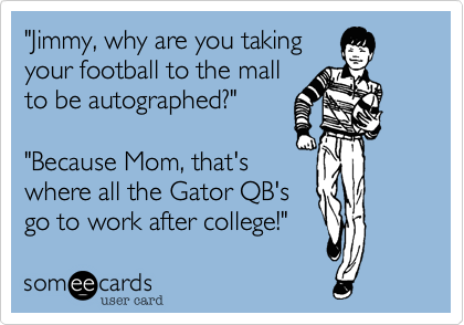"""Jimmy, why are you taking 