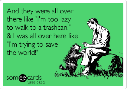 And they were all over 