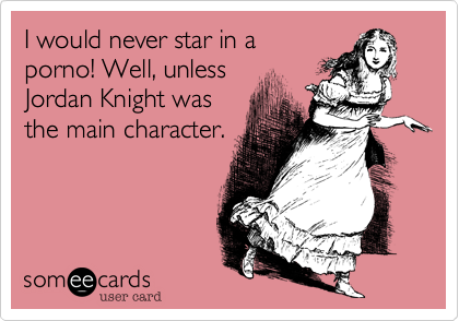 I would never star in a