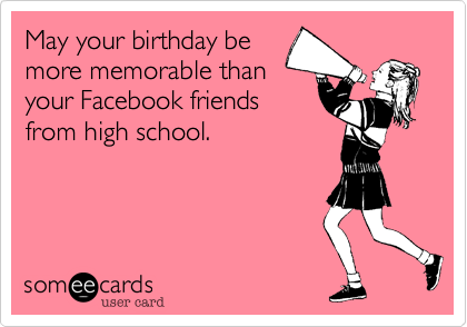 May your birthday be