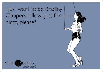 I just want to be Bradley