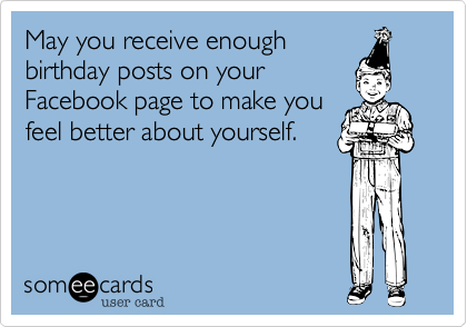 May you receive enough