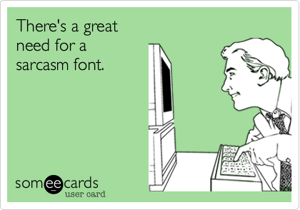There's a great